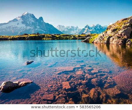 Lac Blanc Stock photo © prill