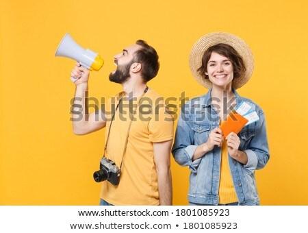 zapowiedź · więcej · megafon · tablicy · szkoły · klasie - zdjęcia stock © zerbor