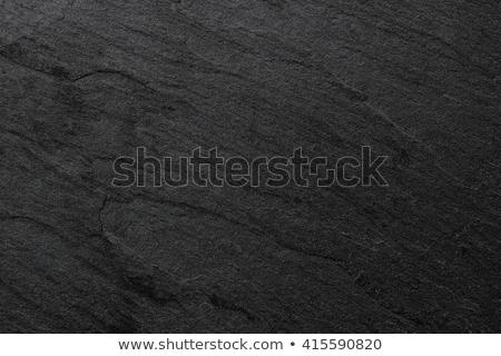 Black slate background Stock photo © vankad