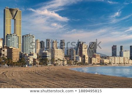 Città spiaggia Spagna costruzione mare Foto d'archivio © tuulijumala