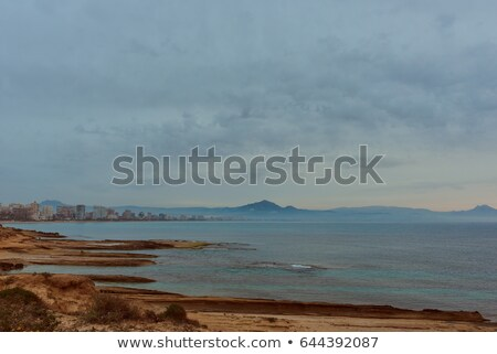 Coastline of a Sant Joan at early morning. Spain Stock photo © amok