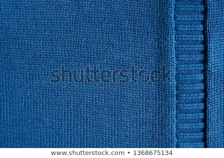 blue knitted texture stock photo © ivelin