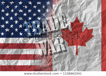 Canadian Tariffs On The United States Stock photo © Lightsource
