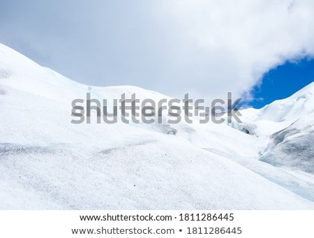 Mountain in winter. Winter landscape. Holidays and travel concept. New year and Christmas. Flat vect Stock photo © makyzz