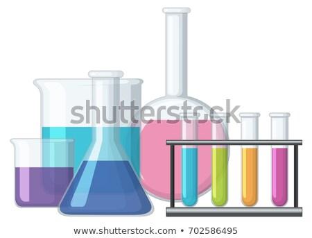 化学 実例 背景 白 化学 パス ストックフォト © colematt