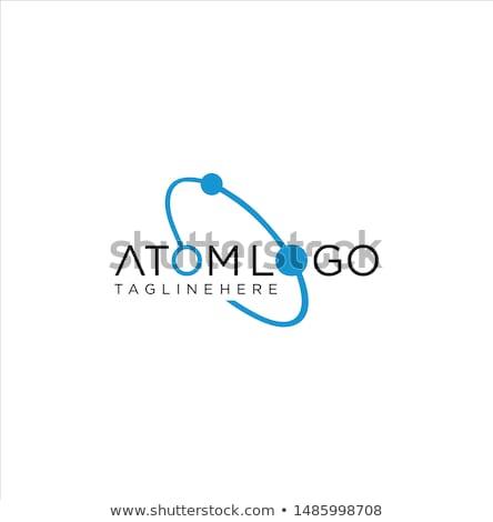 Estrutura círculo design de logotipo estoque isolado branco Foto stock © kyryloff