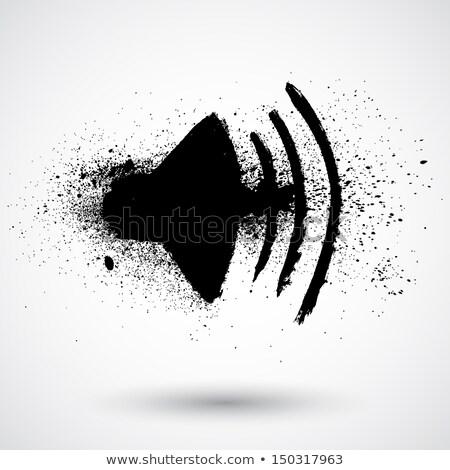 Navigation Icon, Sound Loudspeaker Pixel Element Stock photo © robuart