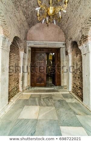Chiesa salonicco Grecia città blu viaggio Foto d'archivio © borisb17