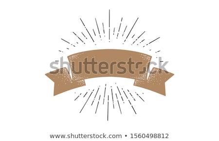 Retro zoom stralen klassiek ontwerp achtergrond Stockfoto © SArts