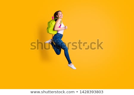 Casual dressed high school student girl  Stock photo © dashapetrenko
