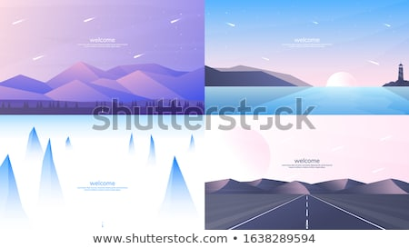 road and lighthouse Stock photo © marimorena