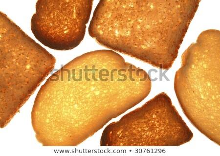 grille-pain · pain · tranches · blanche · blé · déjeuner - photo stock © lunamarina