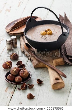 tortellini · sopa · italiano · inverno · ravioli · jantar - foto stock © joker