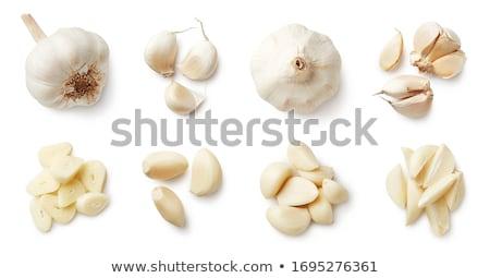 cutting garlic Stock photo © Sarkao