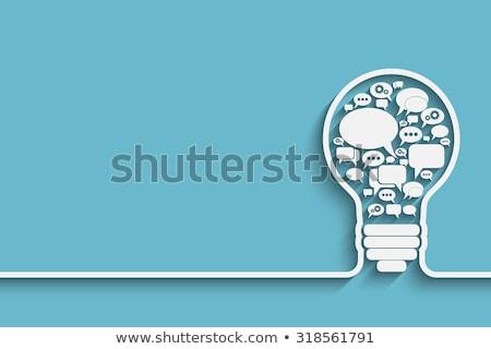 Noticias idea portátil periódico primer plano Foto stock © vinnstock
