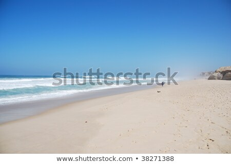 Beautiful beach in Praia del Rey Stock photo © luissantos84