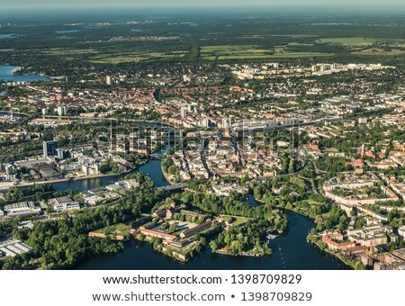 aerial of the Wannsee in Berlin  Stock photo © meinzahn