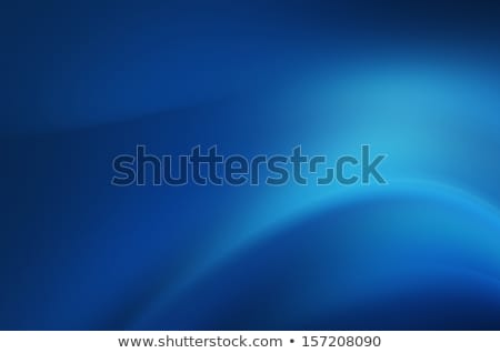 beautiful blue background with flowing smooth wave Stock photo © SArts
