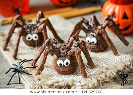 Halloween ojo ilustración torta Foto stock © adrenalina