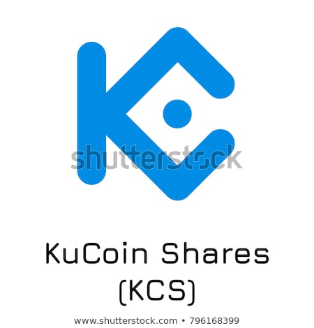 KCS - Kucoin Shares. The Logo of Coin or Market Emblem. Stock photo © tashatuvango