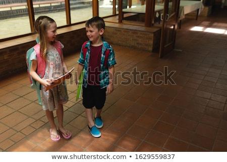мнение школьников говорить другой Сток-фото © wavebreak_media