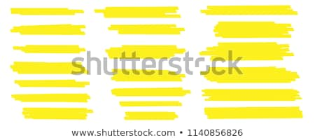 Pen, Pencil And Felt-tip Marker Retro Set Vector Stock photo © pikepicture