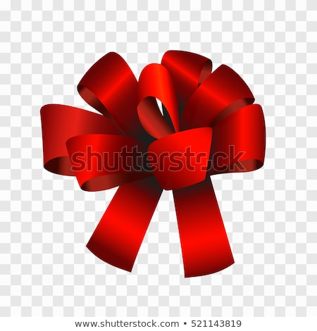 Decorative Ribbon Bows for Gifts with Curly Tapes Stock photo © robuart