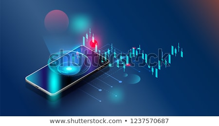 Businessman in trading and finance concept Stock photo © Elnur