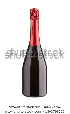 wine collection   champagne bottle without label stock photo © karandaev