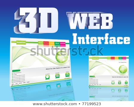основной · веб · страница · дизайна · вектора · бизнеса - Сток-фото © pathakdesigner