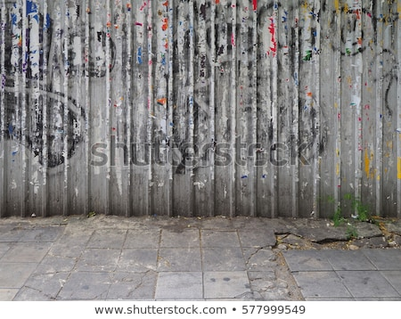 Graffiti footpath Stock photo © RTimages