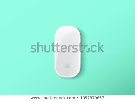ワイヤレス マウス 黒 孤立した 白 オフィス ストックフォト © pazham