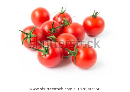 single cherry tomato stock photo © winterling