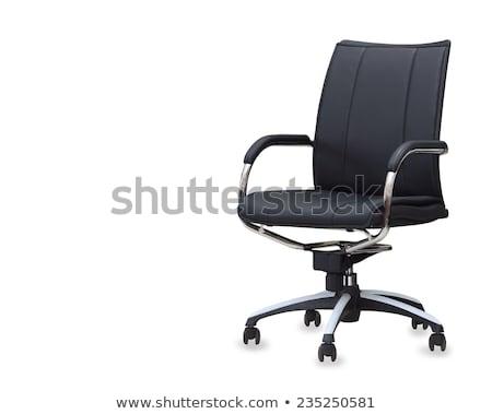 Stok fotoğraf: Modern · ofis · koltuğu · yalıtılmış · beyaz · iş · sanayi