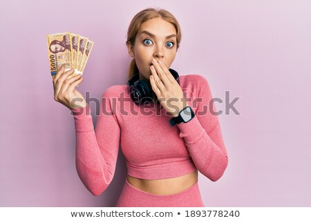 magyar · szőke · nő · gyönyörű · fiatal · fekete · csipke - stock fotó © disorderly