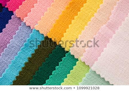 Colore tessuto tappezzeria mobili texture Foto d'archivio © smuki