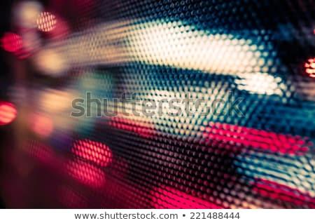 抽象的な ぼけ味 ライト 影 芸術的 スタイル ストックフォト © ilolab