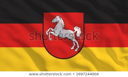 Senken Flagge Stock foto © limbi007