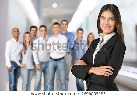 Portrait of a young smiling businesswoman stock photo © Minervastock