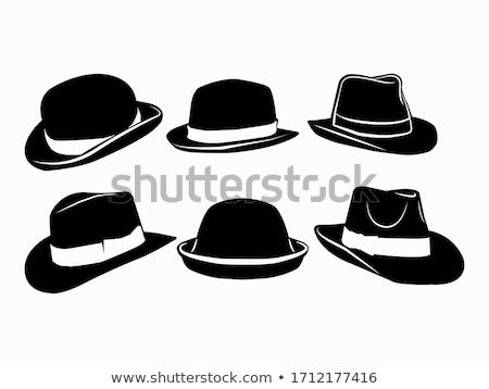 Black men hat  Stock photo © dvarg