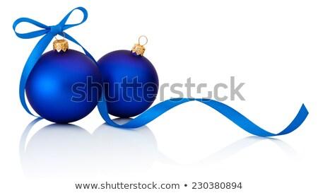 christmas tree in blue 2 Stock photo © marinini