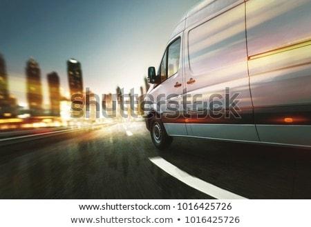 Handlowych van nowoczesne świetle wykonawczej kolor Zdjęcia stock © Supertrooper