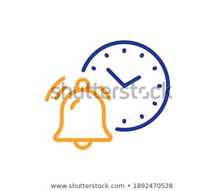 время · синий · дизайна · стиль · белый · кнопки - Сток-фото © tashatuvango