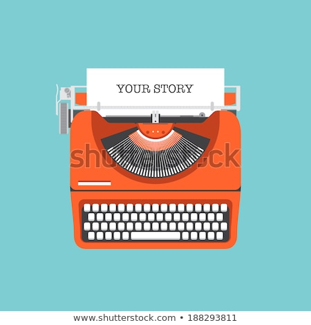personal information concept vintage design stock photo © tashatuvango