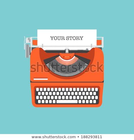 personal information concept vintage design stock photo © tashatuvango