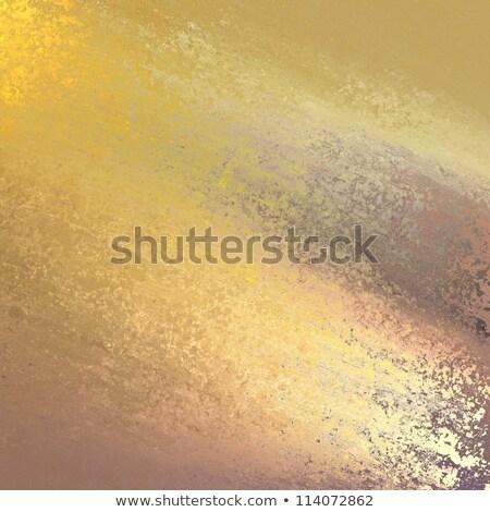 Arany szürke grunge kártya sablon nagyszerű Stock fotó © maxmitzu