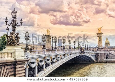 ラ · 橋 · 1 · 橋 · ヨーロッパ · 空 - ストックフォト © chrisdorney