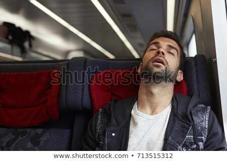 em · movimento · trem · moderno · acelerar · subterrâneo · estação - foto stock © is2
