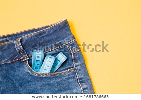Jeans zak geïsoleerd roze Stockfoto © dariazu