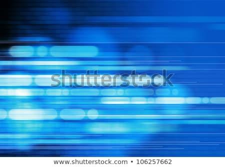 Niebieski falisty błyszczący działalności streszczenie projektu Zdjęcia stock © SArts